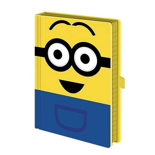 Despicable Me Minions Dave Googly Eyes A5 Notebook Note Pad